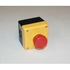 Idec Enclosed E-stop for Automation, 40 mm Button