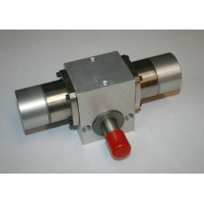 45 Deg. Rotary Actuator for Box Diverter w/ Cushions