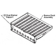 RF-16 or RXE-400 Aluminum Burner Rack