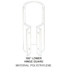 180x90 (in.) Lower Hinge Guard for Standard Door