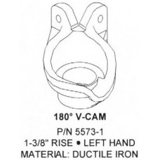 180 Degree V-Cam, Left Hand, 1-3/8